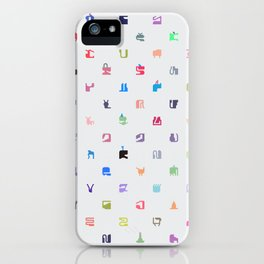 Everything and Everyone iPhone Case