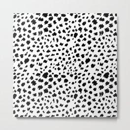 Cheetah skin pattern design Metal Print