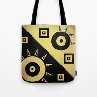 sunshine Tote Bags featuring sunshine by simay