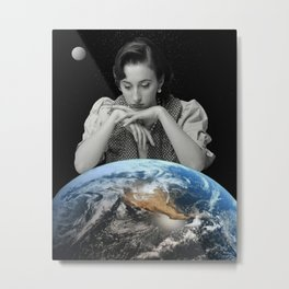 As The World Turns Metal Print