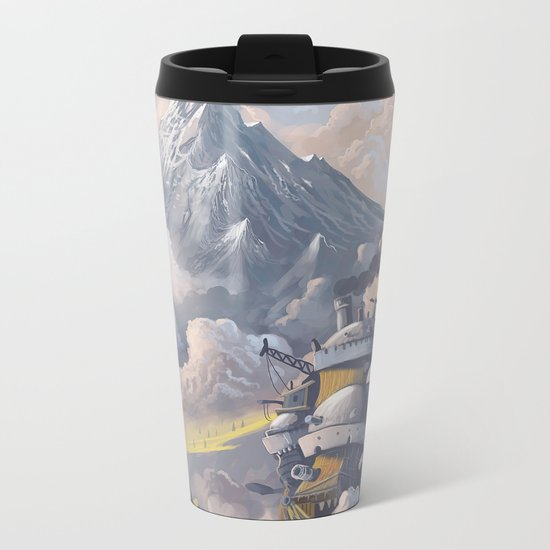 Howl's Metal Travel Mug
