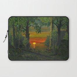 Forest Sunset Laptop Sleeve