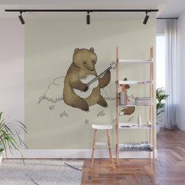 Bear & Fox Wall Mural