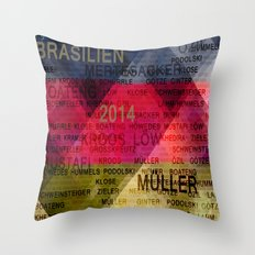 Team Germany Throw Pillow