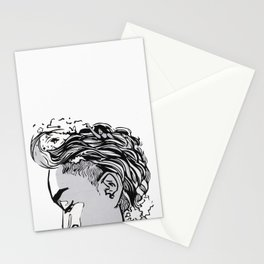 Waves on Swim (Art Only Version) Stationery Cards