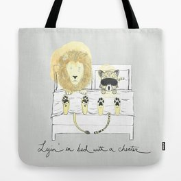 Lyin' In Bed With A Cheater Tote Bag