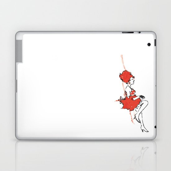 She loves to sink 'em Laptop & iPad Skin