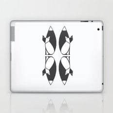 foxy reflected Laptop & iPad Skin