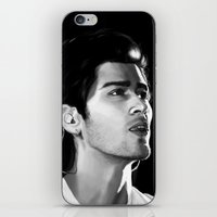 zayn iPhone & iPod Skins featuring Zayn by Judit Mallol