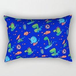 Dino Race Rectangular Pillow