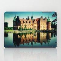 castle iPad Cases featuring Castle by EclipseLio