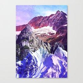 Coloured Mountains Canvas Print
