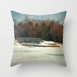 Winter Colours Throw Pillow