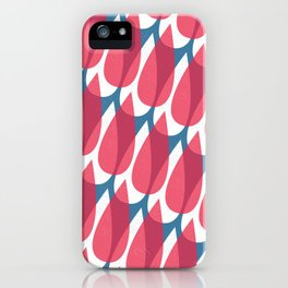 Red Drops iPhone Case