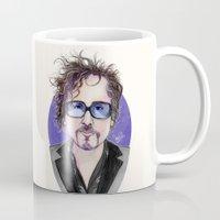 tim shumate Mugs featuring TIM BURTON by ●•VINCE•●