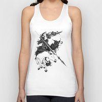 war Tank Tops featuring War by emychaoschildren