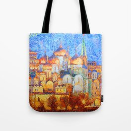 The Cathedrals of the Moscow Kremlin Tote Bag