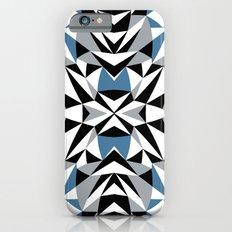 Abstract Kite Black and Blue iPhone 6s Slim Case