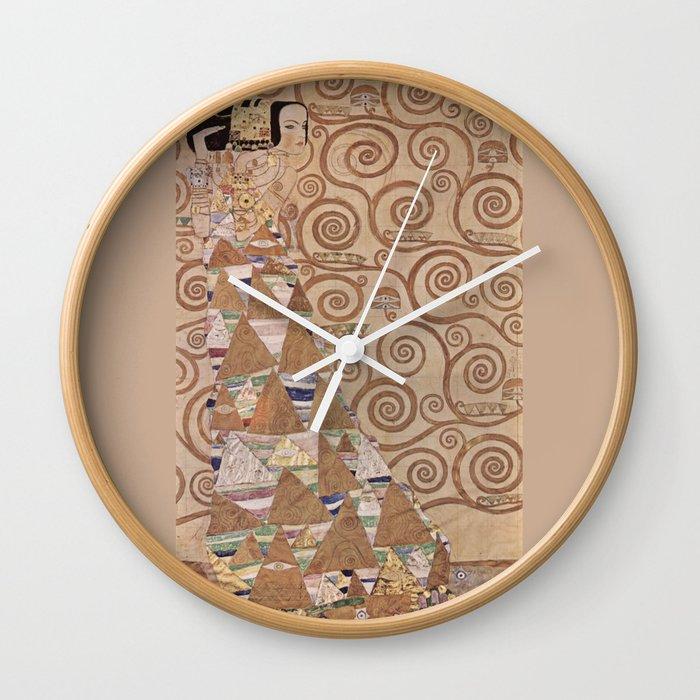 Gustav Klimt - The Expectation Wall Clock