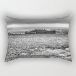 Prison of Alcatraz in san Francisco Rectangular Pillow