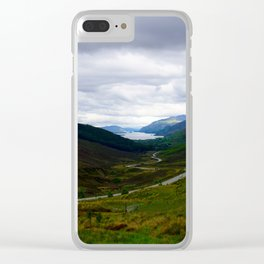 Loch Maree - Scotland Clear iPhone Case