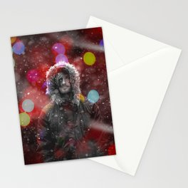 color snow Stationery Cards