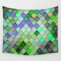 PRETTY - green palette Wall Tapestry