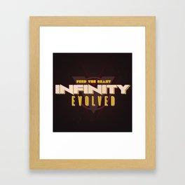 Infinity Evolved Framed Art Print