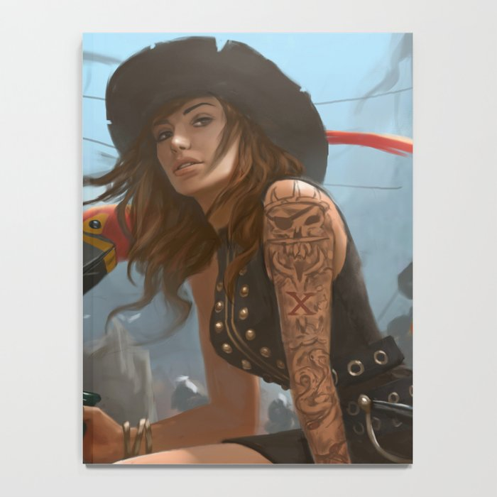 Pirate Haven Tortuga Notebook