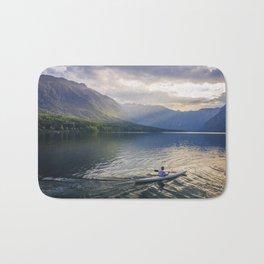 bohinj lake Bath Mat