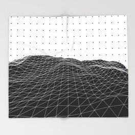 Terra Graphica Throw Blanket