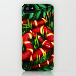 Pete the snake iPhone Case