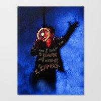 u2 Canvas Prints featuring U2 / Bono / Baby Light My Way by JR van Kampen
