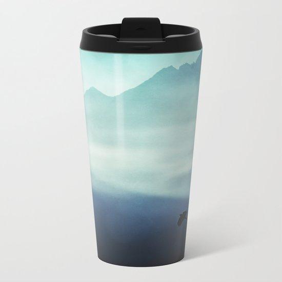 Vanishing Mountains Metal Travel Mug