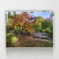 Autumn Bench  Laptop & iPad Skin