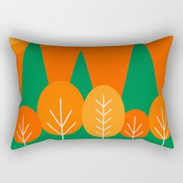 Fall Scene Rectangular Pillow