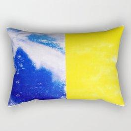 SKY/YLO Rectangular Pillow