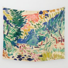 Henri Matisse Landscape at Collioure Wall Tapestry