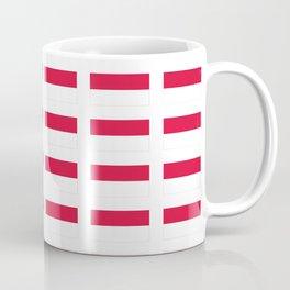 flag of monaco -monegasque,monte carlo,Grimaldi,Albert,casino,Mediterranean,French Riviera Coffee Mug