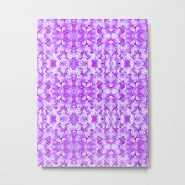 Petals in Orchid Metal Print