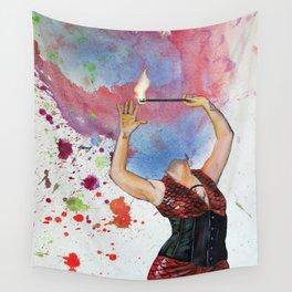 Lydia Treats Wall Tapestry