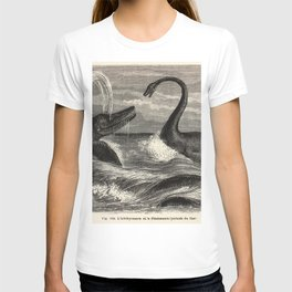Louis Figuier - Ichthyosaur and Plesiosaur 1863 T-shirt