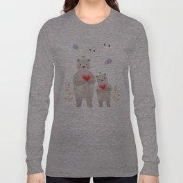 warm heart Long Sleeve T-shirt