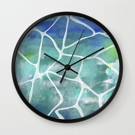Water Reflections Wall Clock