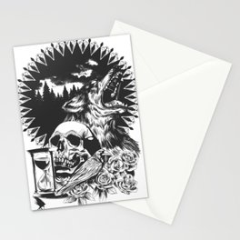 The Cycle Of Death Stationery Cards