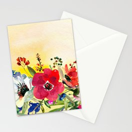 Flowers bouquet #44 Stationery Cards