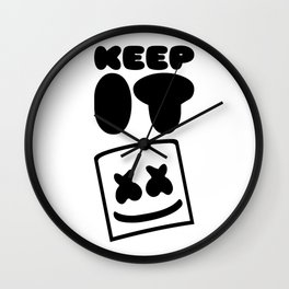 Keep It Mello Wall Clock