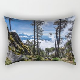 Volcano Tacana Descent Rectangular Pillow