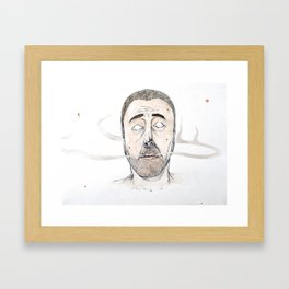 Sickly Fellow Framed Art Print