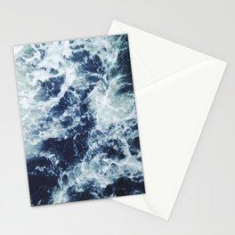 Dark blue Ocean Stationery Cards